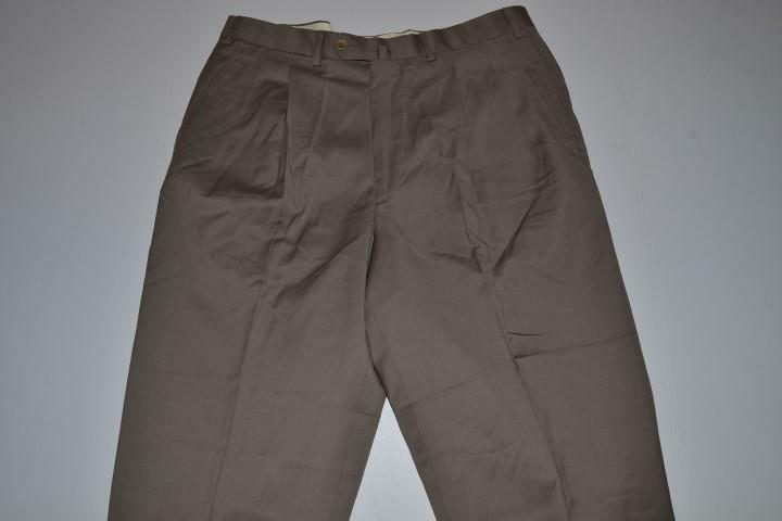 ERMENEGILDO ZEGNA BROWN DRESS PANTS MENS SIZE 36 X 28