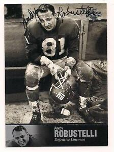 1997-Upper-Deck-Auto-HOF-Andy-Robustelli-New-York-Giants