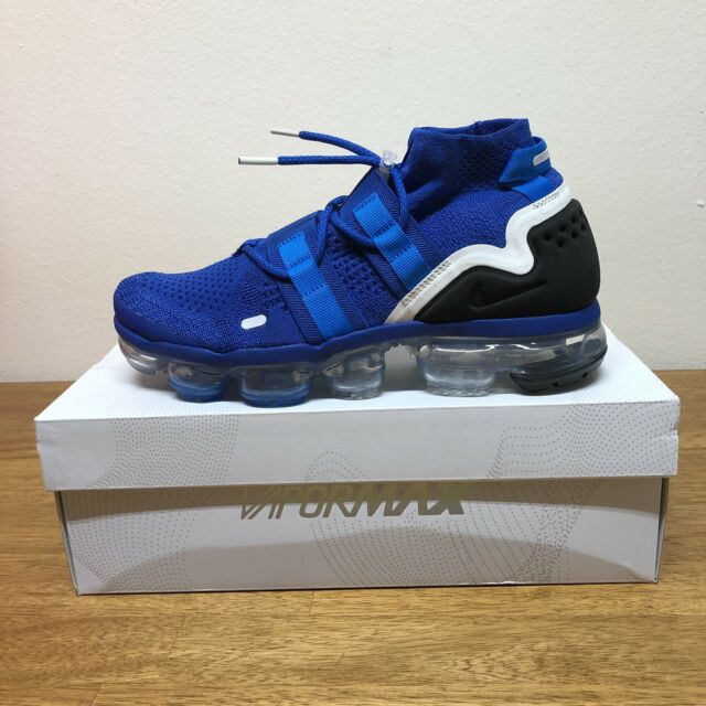 best sneakers 43619 59cdd Nike Air VaporMax FK Utility Flyknit Game Royal Blue AH6834-400 Men s Size 8