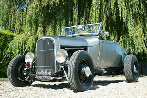 Ford-Model-A-Roadster-V8-Traditional-All-Steel-Hot-Rod