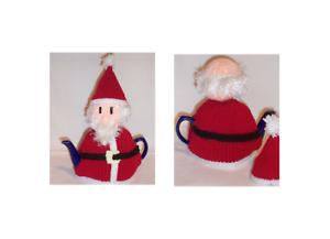 Knit yourself a Christmas Tea Cosy Santa Tea Cosy Knitting Pattern
