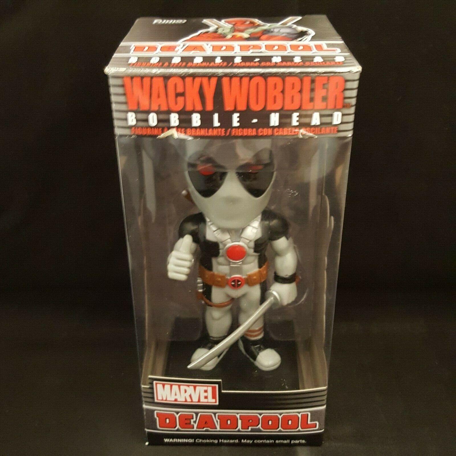 Funko Marvel Heroes X-Force Deadpool Wacky Wobbler Statue