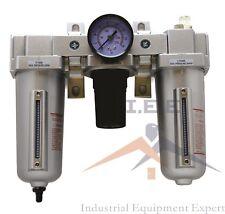 34 Combo Air Line Particulate Filter Moisture Trap Lubricator Regulator