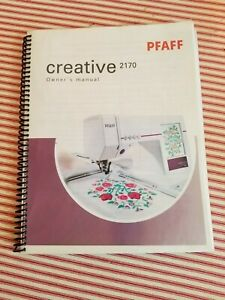 Test Program Manual PDF Download Service PFAFF Creative 2170 Machine Repair