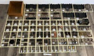 Singer-Sewing-Machine-Cabinet-Bentwood-Case-Treadle-Hardware-Repair-Part-Lots