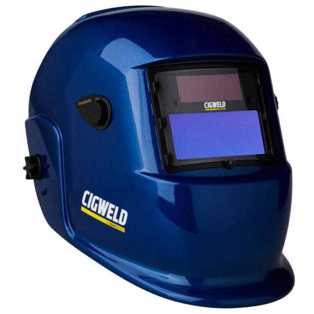 Cigweld WeldSkill Auto-Darkening Welding Helmet Variable Shade 9-13 Blue