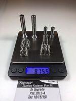 Firenock Titanium Fastener Upgrade Kit For 2012 2013 2014 Pse Tac 10 / 15 / 15i