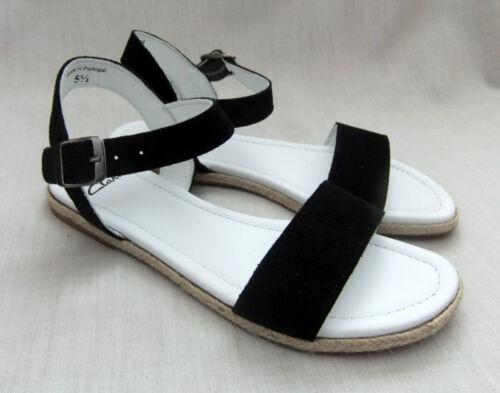 para Honey Tacent Clarks Nuevas mujer ante sandalias de negras 0OqaOF