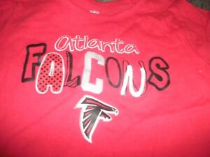 finest selection ee86f 6ffe4 Details about Atlanta Falcons NFL Apparel Infant Toddler Girls Size  2t/3T/4T T-Shirts (C11)