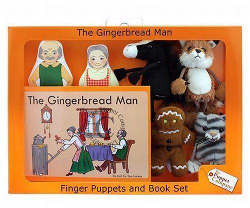Puppet Company Fingerpuppen Set Lebkuchenmann 6 Stück