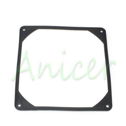 140mm PC Case Fan Silicone Anti-vibration Gasket Shock Absorption Pad Black