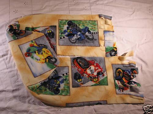 Motorcycles Fleece Scarf Xtra Wide Motor Bike Riders