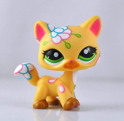 Littlest Pet Shop Cat Kitty Child Girl Figure Toy Loose LPS864