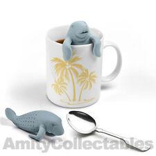 MANATEA Silicone Tea Leaf Strainer Herbal Infuser Filter Diffuser New!