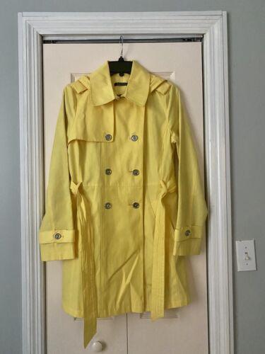 Ralph Lauren belted trench coat with hood