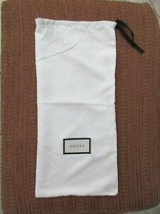 GUCCI-Dust-Bag-Small-Size-17-x-8-Rectangular-Off-White-New