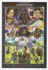 "STAR WARS RETURN OF THE JEDI 5"" x 7"" REPUBLIQUE TOGOLAISE MNH STAMP SHEET"
