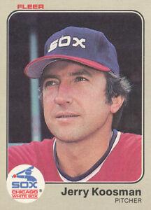 1983-Fleer-Jerry-Koosman-Baseball-Card-242-Chicago-White-Sox