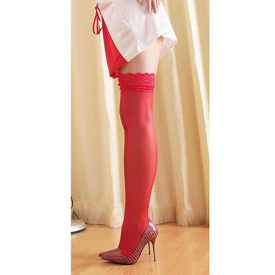 Hot Sale Sexy Women's Lace Top Stay Up Thigh High Stockings Nightclubs Pantyhose