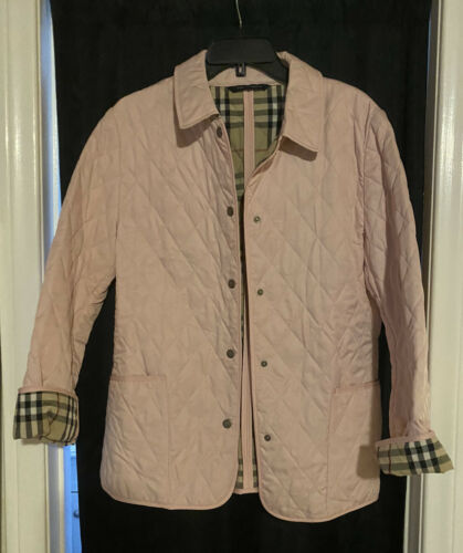 burberry quilted jacket medium - image 1