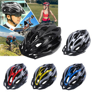 Mountain Bike Carbon Helmet Mens Womens Adult Sports Cycling Bicycle Adjustable
