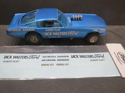 Doug/'s Headers 65/' Nova AWB 1//25 Decal from Fremont Racing Specialties