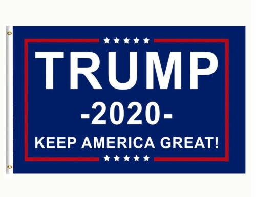 TRUMP 2020 KEEP AMERICA GREAT 3 X 5 FLAG 5 Flags bundle