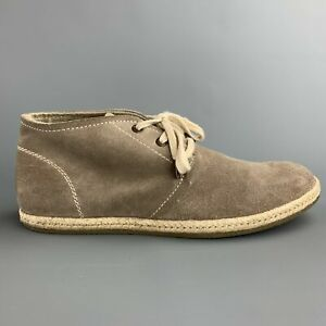 ALLSAINTS-SPITALFIELDS-Size-8-Taupe-Suede-Lace-Up-Chukka-Boots