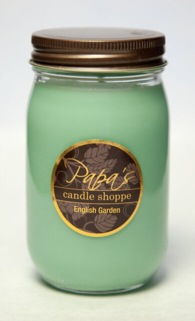 Falls Bridge Candles English Garden Scented Jar Candle For Sale Online Ebay
