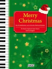 HAGE - MERRY CHRISTMAS, Noten Klavier Keyboard Gitarre (EH1075) 4026929901927