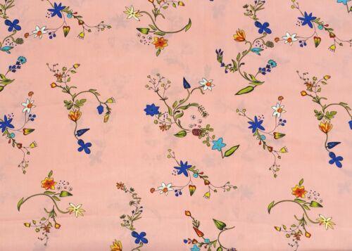 100/% viscosa sustancias estampados flores puntos prendas de vestir decoración de viscosa METERWARE