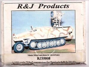 R & J Products Uhu Conversion Kit for Tamiya's SdKfz 251/D 1/35 RJ35008