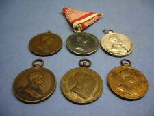 altes Konvolut Orden 6 Stück Österreich K&K Monarchie der Tapferkeit (25)