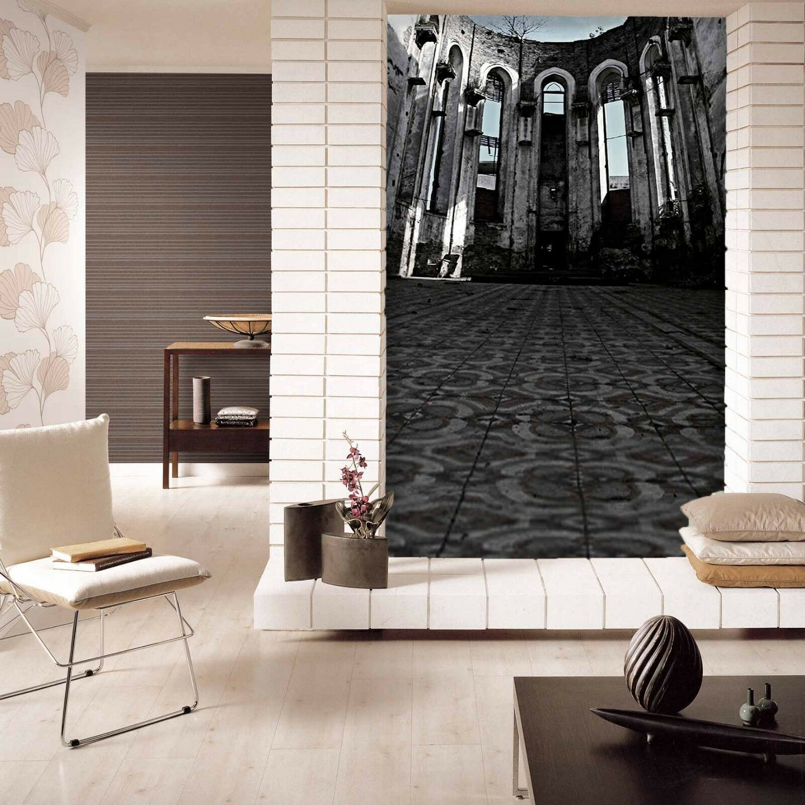 3D Old Building 562 Wall Paper Wall Print Decal Wall Deco Indoor Mural Summer