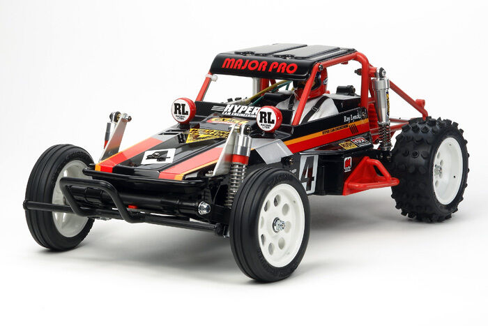 Tamiya 58525 Wild One Off Roader RC Kit - DEAL BUNDLE with STEERWHEEL Radio