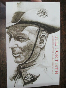 40th-THE-FORTIETH-An-Australian-History-Record-40th-Battalion-AIF-Military-book