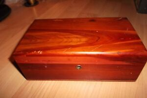 Lane Miniature Cedar Chest - Vintage Mini Punta Gorda Florida Sample Jewelry Box