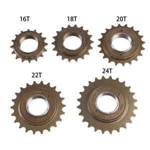 BMX-Bike-Bicycle-16-18-20-22-24T-Tooth-Single-Freewheel-Speed-Sprocket-Part-New