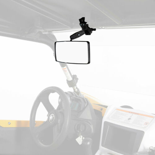 Yamaha Rhino UTV Rear View Mirror Clamp-On Style Adjustable Universal Fit New