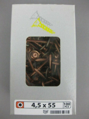 SWG Spengler Dichtschrauben Edelstahl A2 Linsensenkkopf+Dichtscheibe verkupfert