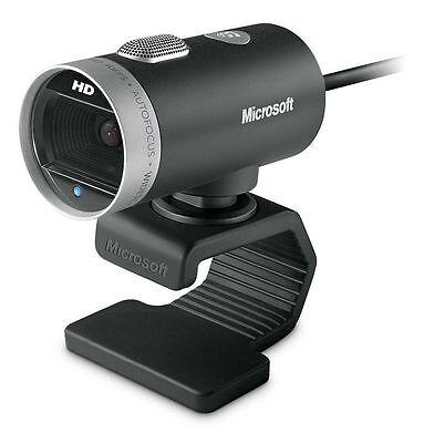 New, Microsoft LifeCam Cinema 720p HD Webcam 1393, Black by Microsoft H5D-00013