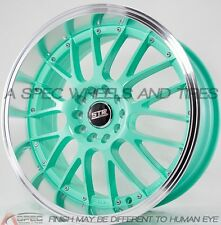 MINT MACHINE LIP 17X9 +20 STR 514 5X114.3 WHEEL FIT SCION XB TC HONDA ACCORD V6