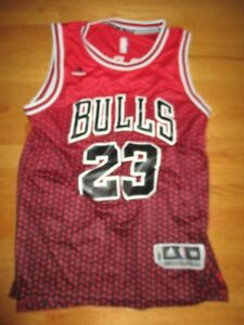 buy popular 754ec c4b64 Details about Adidas MICHAEL JORDAN No. 23 CHICAGO BULLS (Youth LG) Jersey