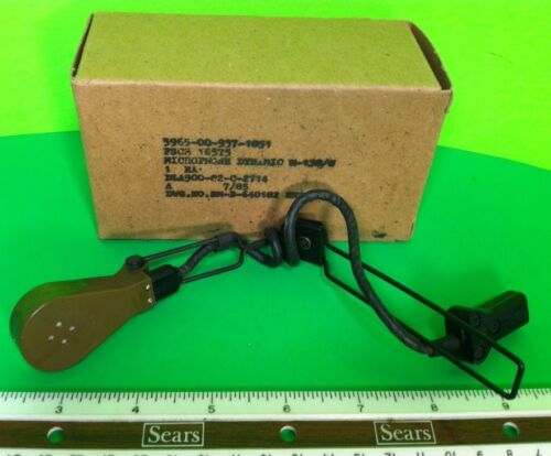 Replacement BOOM MIC for US GI USMC Army CVC Tanker or Headset M-138//G