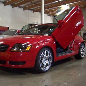 Lambo-Doors-Audi-TT-1999-2006-bolton-Door-Conversion-kit-Vertical-Doors-Inc-USA