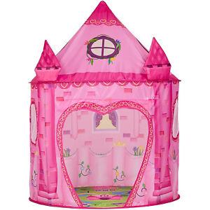 Girls Princess Pop Up Castle Play Tent Girls Playhouse Toy House Kids Garden#