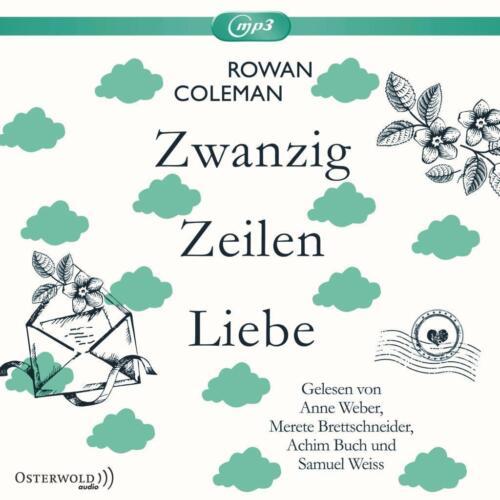 1 von 1 - Rowan Coleman- Zwanzig Zeilen Liebe, ungekürzte Lesung auf 2 mp3 CDs, foliert