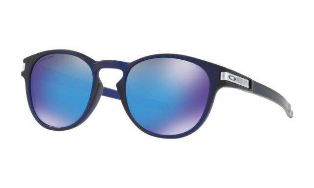 cb194a71bcb4 Oakley Latch Grid Matte Translucent Blue Prizm Sapphire Sunglasses OO9265 -4253