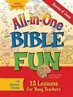 All-in-one Bible Fun Preschool: Stories of Jesus by Various (Paperback, 2010)