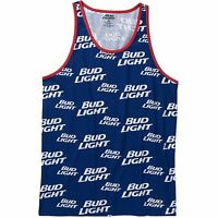 Bud Light Men's Graphic Tank Top Shirt Sleeveless S M L Xl Xxl 2xl